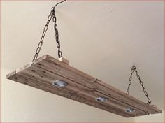 Ceiling Lamp Dimmable LED Lights In Old Oak