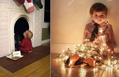 ideas-photography-kids-christmas-DIY-ideas-fotográficas-con-niños-en-navidad-lights-luces-chimenea.jpg (630×412)