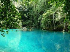"travelalice275: ""Blue Lagoon, Port Antonio Jamaica """