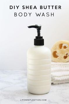 Make Your Own Creamy Homemade Body Wash in Minutes with Skin Loving Ingredients #UnwantedHairRemoval #BestPermanentHairRemoval Diy Body Wash, Homemade Body Wash, Natural Body Wash, Homemade Skin Care, Natural Skin Care, Organic Body Wash, Natural Beauty, Homemade Moisturizer, Natural Face Cleanser