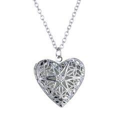 Unisex Women Men Hollow Heart Necklace Pendant Luminous Glow In The Dark Locket Glwoing Necklaces ewelry Gifts-in Pendants from Jewelry on Aliexpress.com | Alibaba Group