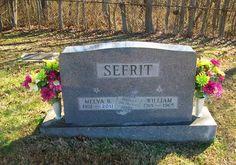 Western Kentucky Genealogy Blog: Tombstone Tuesday - Melva and William Sefrit  #genealogy