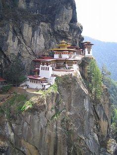 Tiger's Nest in Bhutan