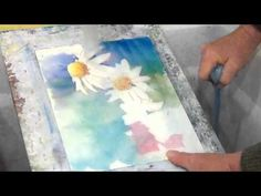 Washing Off Watercolor - YouTube