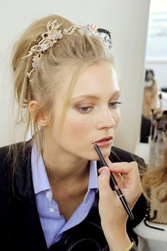chanel-backstage5 by {this is glamorous}, via Flickr