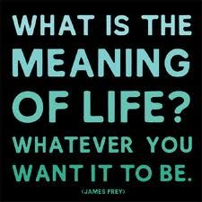 The Meaning of YOUR Life!