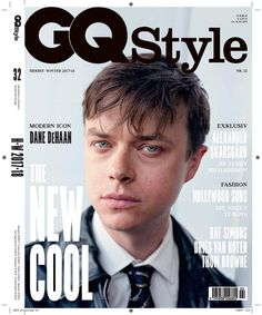 Actor Dane DeHaan wears dapper designer looks in an editorial captured by fashion photographer Ktaja Rahlwes for the FW 2017 issue of GQ Germany. Dane Dehaan, Actor Photo, Gq Style, Winter 2017, Fall Winter, Alexander Skarsgard, Celebrity Crush, Hollywood, Singer