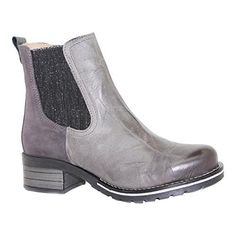 Dromedaris Womens Kourtney Chelsea BootSlate LeatherSuedeEU 40 M >>> Check  out the image by. Shoes Boots ...