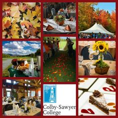 Fall in love with @colby_sawyerfunctions #colbysawyer #colbysawyercollege #thinkoutsidetheclass #wedding #specialevents #fall #autumn #newhampshire #events