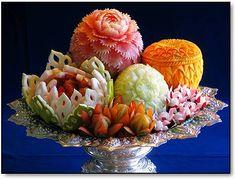 Carved fruit Food Art