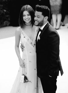 Selena and the Wkend Hollywood Celebrities, Female Celebrities, Celebs, Selena And The Weekend, Selena Gomez The Weeknd, Marie Gomez, Perfect Couple, Celebrity Couples, Demi Lovato