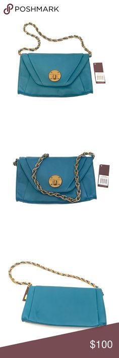 "Elliot Lucca Córdoba Bag In Auquatic blue NWT Elliot Lucca Córdoba Bag In Auquatic blue NWT with $138 msrp. Strap is 31"" long. Elliott Lucca Bags Shoulder Bags"