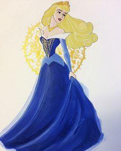 Disney Princess Drawings, Disney Princess Art, Disney Fan Art, Disney Love, Disney Pixar, Disney Characters, Aurora Design, Aurora Rose, Aurora Disney