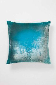 Ombre Velvet Pillow - anthropologie.com