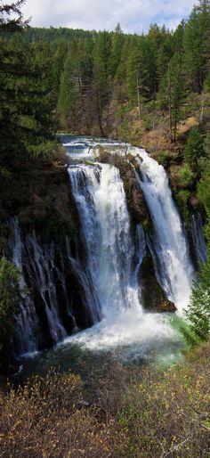 McArthur-Burney Falls in California.