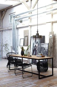 Industrial Style #fullframestudio.com #studio  #art studio