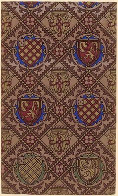 Wallpaper | A. W. Pugin | V&A Search the Collections