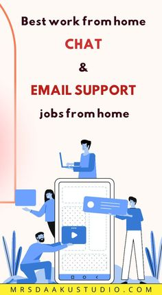 If you are looking for work at home that doesn't involve phones at all? That's what's amazing about online chat and email support jobs. Here is a big list of companies that hire for chat jobs and… Work From Home Careers, Work From Home Companies, Legitimate Work From Home, Online Work From Home, Work From Home Opportunities, Business Tips, Online Business, Customer Service Jobs, Earn Money Online Fast