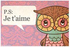 Love you (www.carogribouillis.be)  Owl