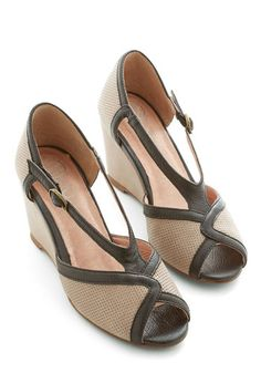 Tappy Feet Wedge by Jeffrey Campbell