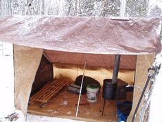 Homemade Baker Tent