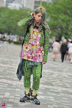 Japanese street fashion in Shibuya, Tokyo #kawaii #harajuku