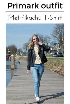 Een volledige Primark oufit met Pikachu shirt!  #fashion #outfit #primarkoutfit #pikachushirt #pikachuoutfit #lerenjasjeoutfit #leatherjacketinspiration #outfitinspiration