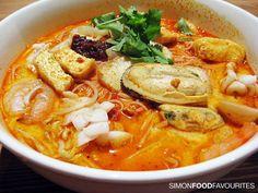 Seafood Laksa - YUMM!!!