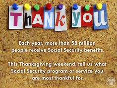 58million people get #SocialSecurity benefits. Are you 1? What service are you #ThankfulFor?  www.socialsecurity.gov/pubs/EN-05-10024.pdf