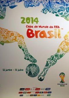 Coupe du Monde 2014 : une affiche à l'image du Brésil…et du football