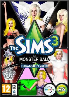 THE MONSTER BALL TOUR pack with 30 clothes by Marc - Sims 3 Downloads CC Caboodle