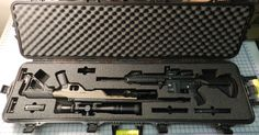 Custom Foam for a Plano case. KRG Heckler and Koch Sightmark Vortex Walther Heckler & Koch Usp, Gun Cases, Gun Storage, Shtf, Rifles, Tactical Gear, American Made, Airsoft, Locker