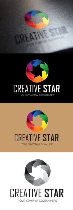Check out Creative Star Logo Template by DesignMarket on Creative Market