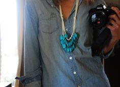 Simple Lovely: denim, turquoise