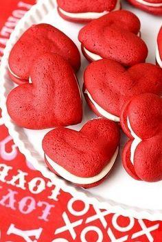 Macarons de Coração