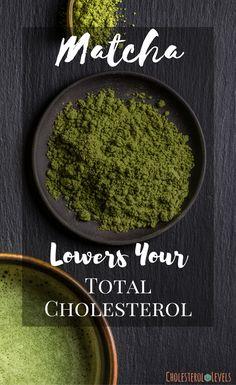 Health benefits of matcha powder is amazing. It full of antioxidants and many ot… Health benefits of matcha powder is amazing. It full of antioxidants and many other nutrients. Matcha Powder Benefits, Matcha Health Benefits, Juicing Benefits, Tea Benefits, Cholesterol Lowering Foods, Cholesterol Levels, Healthy Facts, Turmeric Tea, Matcha Green Tea