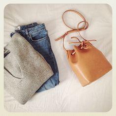 Bag from @mansurgavriel #wishlist #outofstock repost from @mija_mija #handbag #fashion