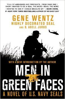 Men in Green Faces by Gene Wentz was a book given to my by my older brother. Once I picked it up I literally could not put it down. The amount of detail that the author goes through about Vietnam and the imagery is stunning and amazing. This made me really venture into the military genre of book.