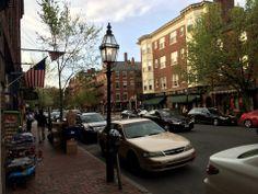 Charles Street en Boston, MA