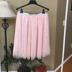 Spotted while shopping on Poshmark: Pink Skirt! #poshmark #fashion #shopping #style #Xhilaration #Dresses & Skirts
