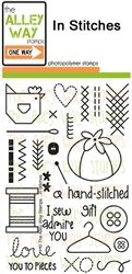 In Stitches TAWS, The Alley Way Stamps, Clear Stamps, handmade cards