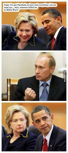 Obama vs Putin: Mafia Wars