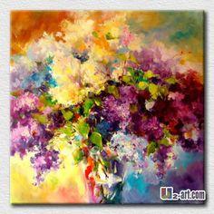 cuadros de flores al oleo - Buscar con Google