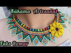 Fun Diy Crafts, 3 D, Crochet Necklace, Projects To Try, Crochet Patterns, Beads, Jewerly, Diana, Youtube