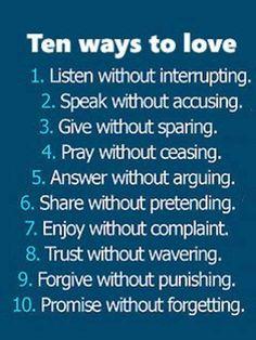 10 ways to love <3