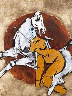 MF Husain's Best-Selling Paintings