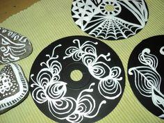Cd pintados acrilicos