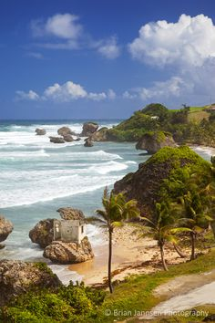Bathsheba Beach, Barbados, West Indies. © Brian Jannsen Photography