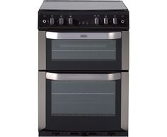 belling fsg60dop gas cooker with electric grill stainless steel
