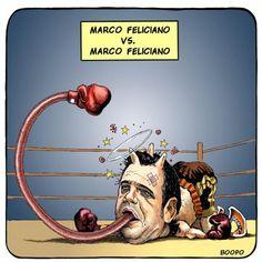Por que não te calas Feliciano?